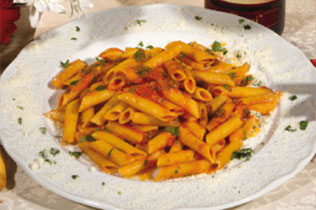 Penne all'Arrabbiata - Cin Cin Bar Restaurant & Cafe' - MILANO