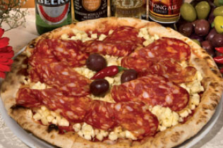 Pizza Diavola - Cin Cin Bar Restaurant & Cafe' - MILANO
