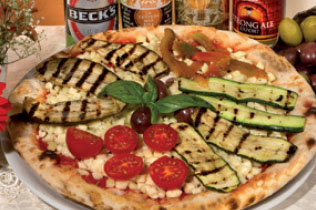 Pizza Vegetariana - Cin Cin Bar Restaurant & Cafe' - MILANO