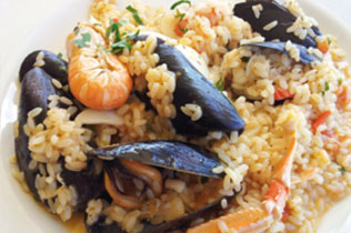 Risotto ai frutti di mare - Cin Cin Bar Restaurant & Cafe' - MILANO