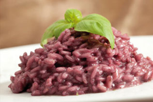 Risotto al Chianti - Cin Cin Bar Restaurant & Cafe' - MILANO