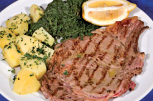 Costata all'Antica - Cin Cin Bar Restaurant & Cafe' - MILANO