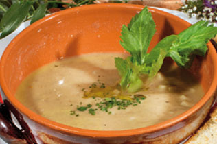 Zuppa di pollo - Cin Cin Bar Restaurant & Cafe' - MILANO